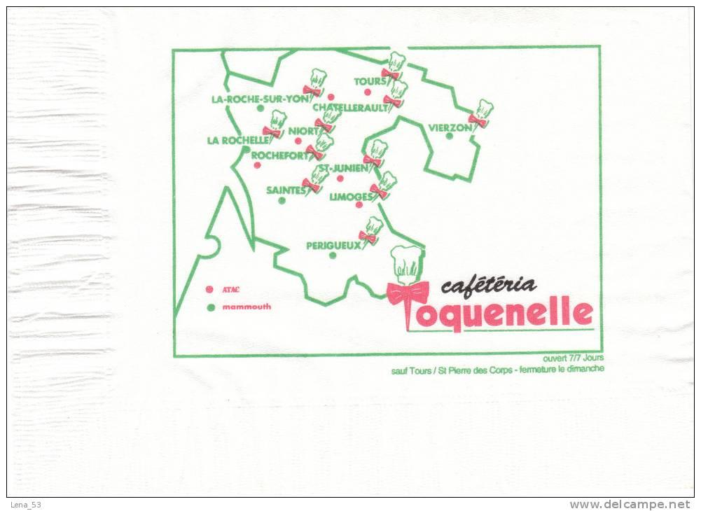 Serviette Papier Cafétéria Toquenelle - Tovaglioli Bar-caffè-ristoranti