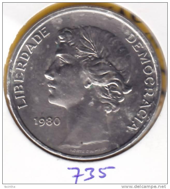 @Y@     Portugal  25 Ecq  1980        (735) - Portugal