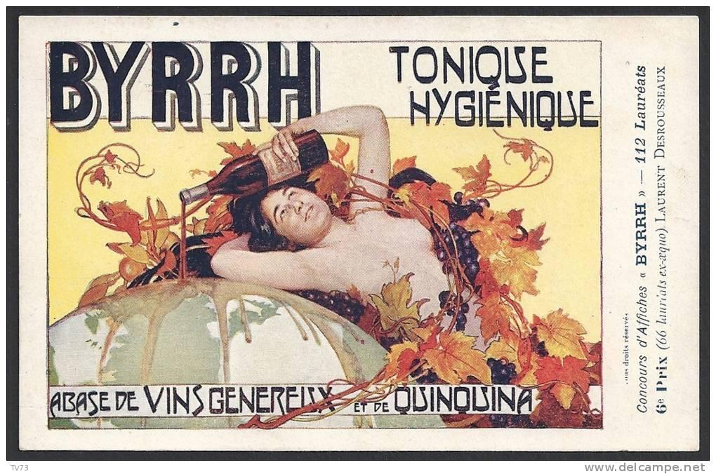I551 - Concours D´Affiches BYRRH - 6em Prix - Laurent DESROUSSEAUX - (Illustrateurs) - Künstlerkarten