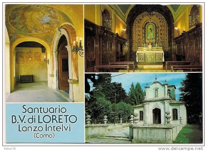 SANTUARIO B.V. DI LORETO - LANZO INTELVI - COMO - N. VG. - Como