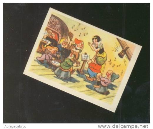 BLANCHE NEIGE - Snow White -  Numero 67 Vignette Pour Album Images Biscuits Beukelaer - Vieux Papiers
