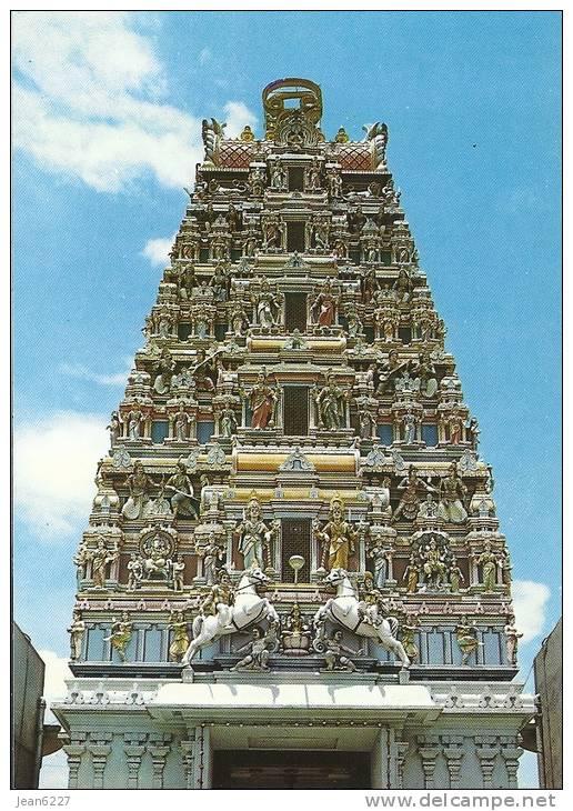 Kuala Lumpur - Mariamman Temple - Malaysia