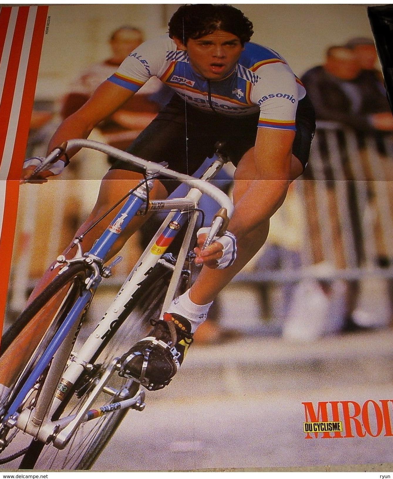 Miroir Du Cyclisme N° 365 Mars 85 Avec Poster Grewal - Sport
