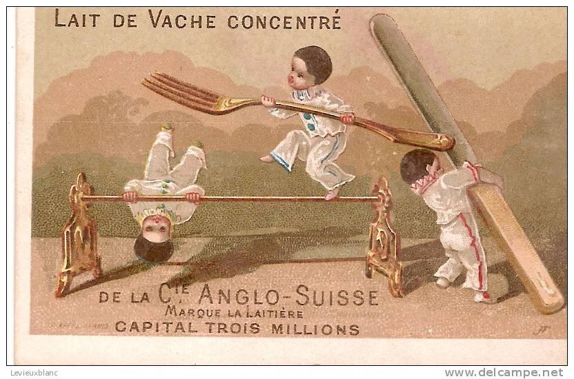 Compagnie Anglo-Suisse/Lait De Vache Concentré/La Laitiére/vers 1875?                IM41 - Liebig