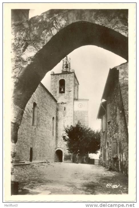 83/CPSM -  Solliès Ville - L'Eglise - Sollies Pont
