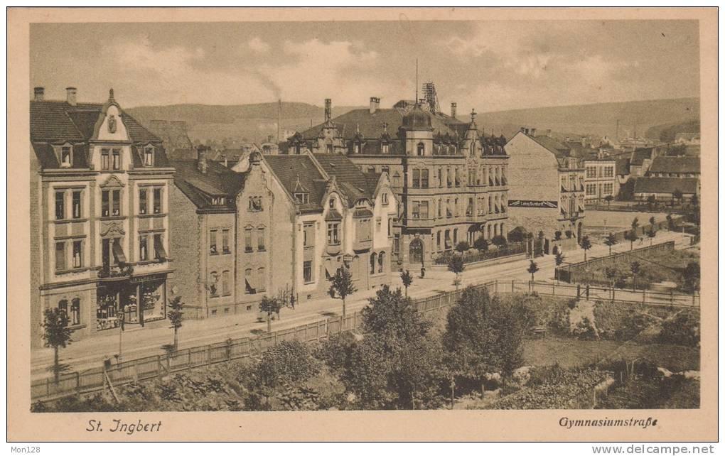SAINT INGBERT - GYMNASIUMSTRASSE - Saarpfalz-Kreis