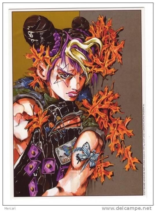 CP  BD, Manga, Hirohiko Araki, Jojo's Bizarre Adventure, Stone Océan, Tonkam Bandes Dessinées - Comics