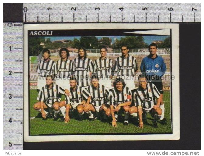 F90 FIGURINA CALCIATORI PANINI 1998-99 SQUADRA ASCOLI N. 649 - Panini