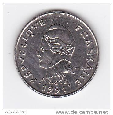 Polynésie Française - Pièce De 10 FCFP - 1991 - Polynésie Française