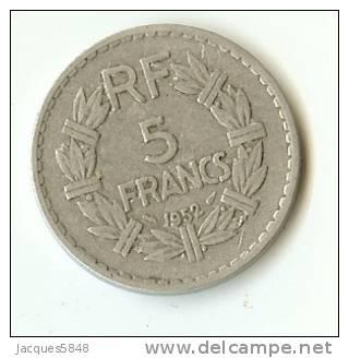 5 FRS LAVRILLIER - 1952  - ALU (  Rare  )   TB + - France