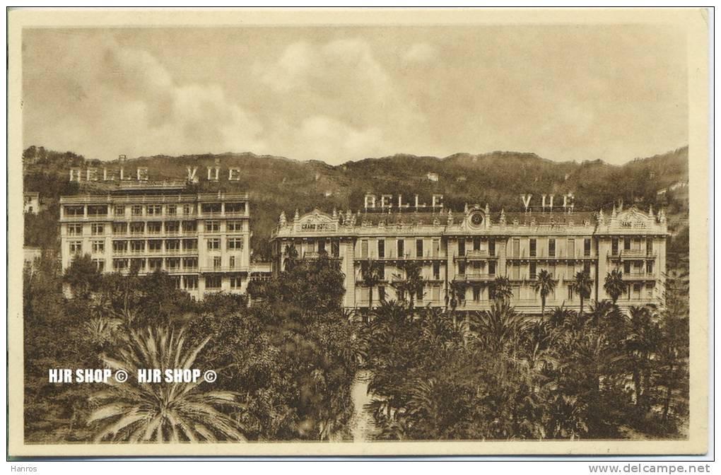 """Um 1920/1930 Ansichtskarte,  """"Grand Hotel Bellevue""""  Ungebrauchte Karte - Imperia"""