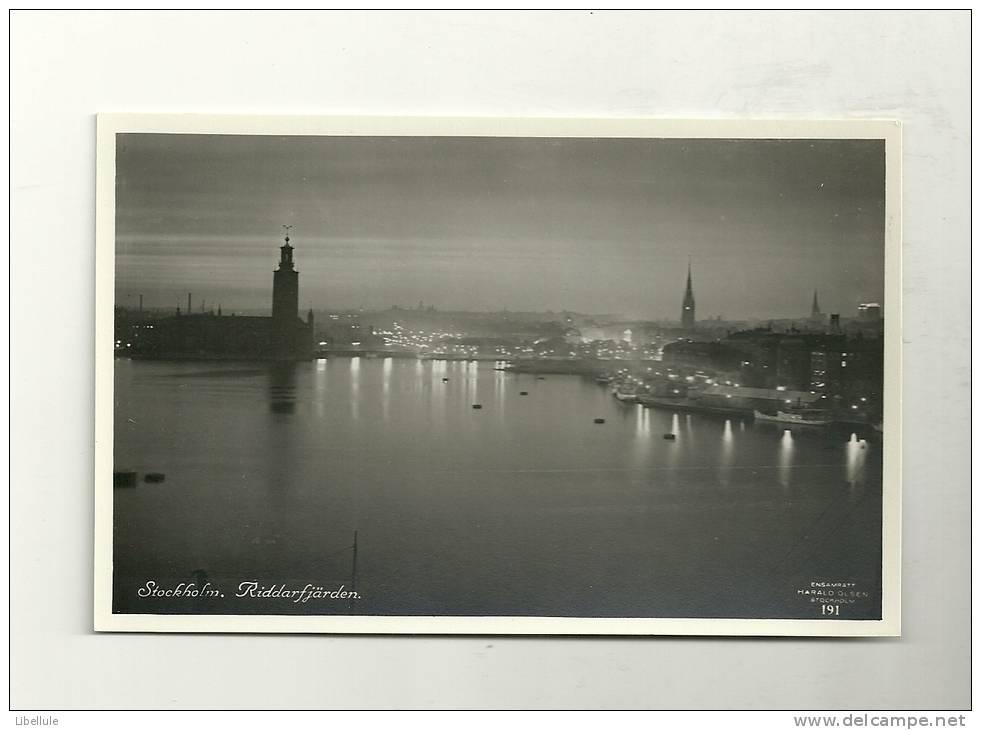 Stockholm : Riddarfjärden - Suède