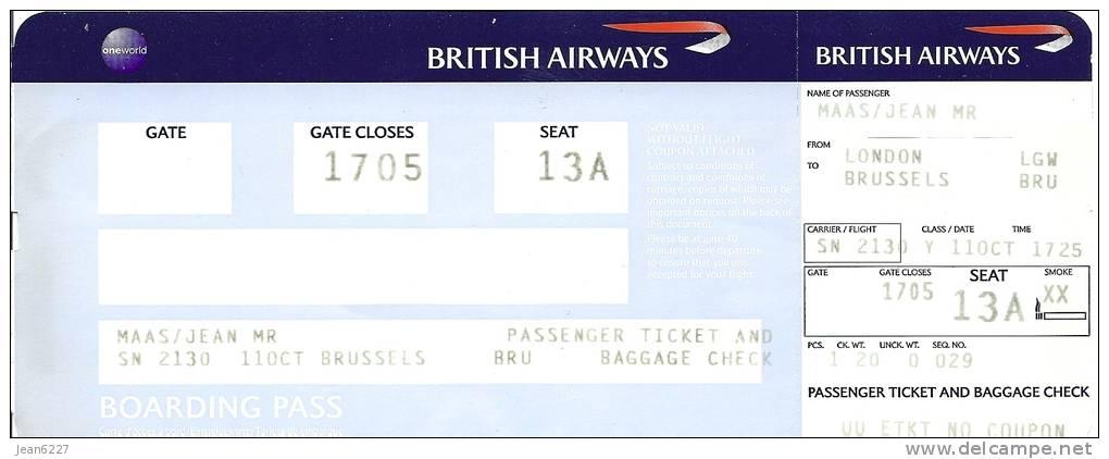 British Airways Boarding Pass - Bing images