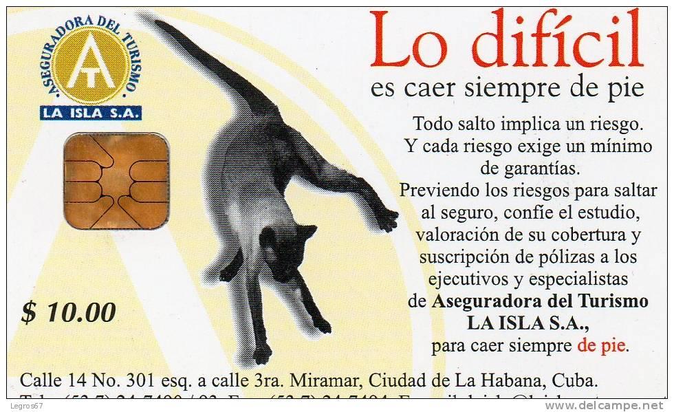 TELECARTE ETECSA 10 $ - LO DIFFICIL... - Cuba