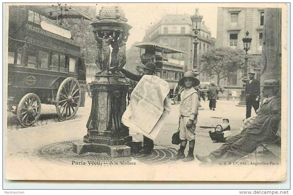 DEP 75 PARIS VECU A LA WALLACE - Sets And Collections