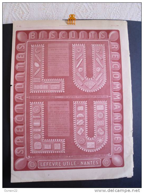 Publicité Biscuits LU  - L'Illustration - 1926 - Publicités