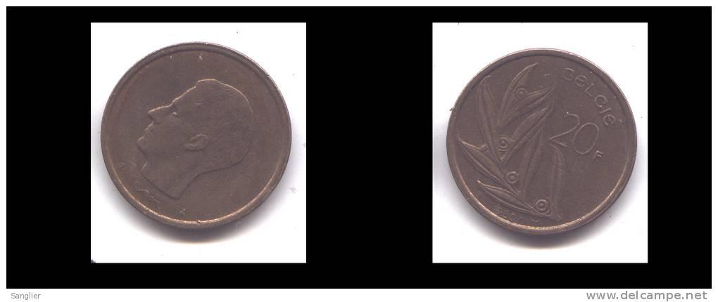 20 FRS 1980 FL - 1951-1993: Baudouin I