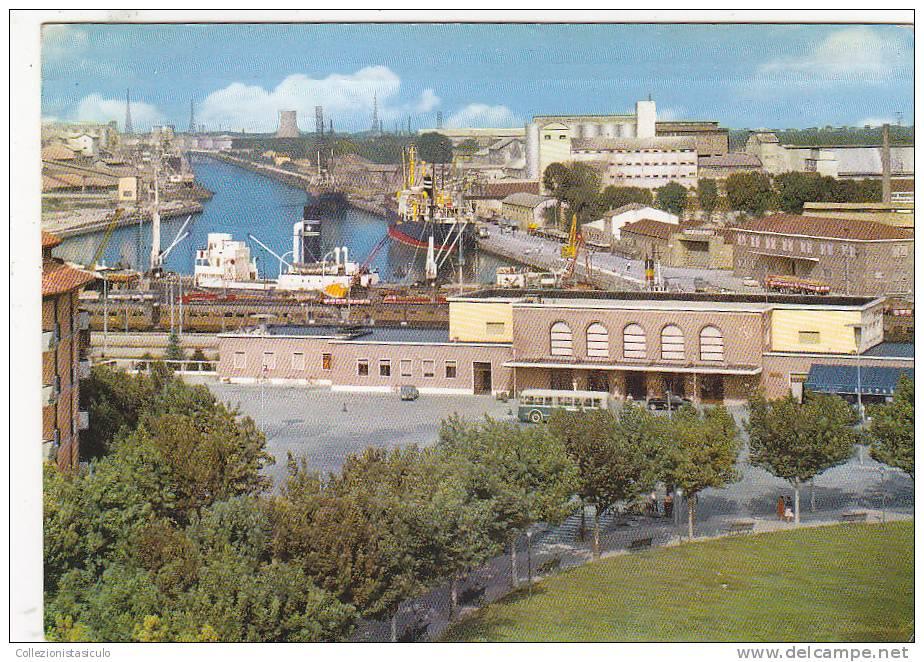 $3-1982- Ravenna - Stazione Ferroviaria E Porto Canale -  F.g. Viaggiata - Ravenna