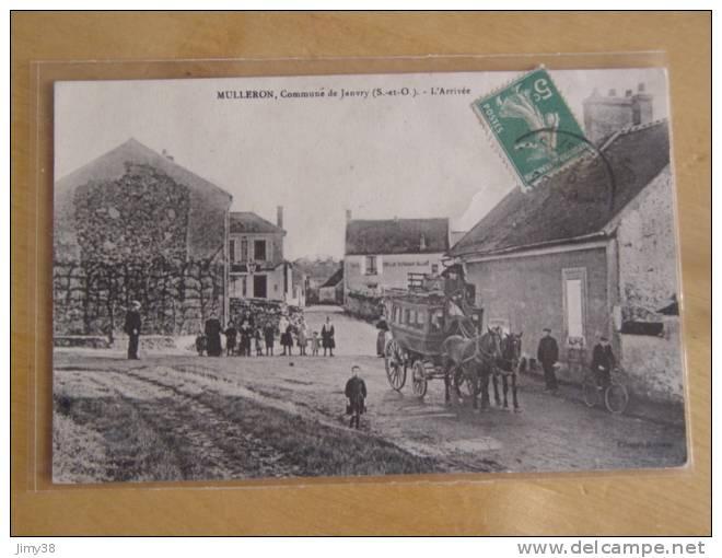 MULLERON-COMMUNE DE JANVRY-ESSONNE-L'ARRIVEE-DILIGENCE-ANIMEE-SELECTION CODE 12 - Autres Communes