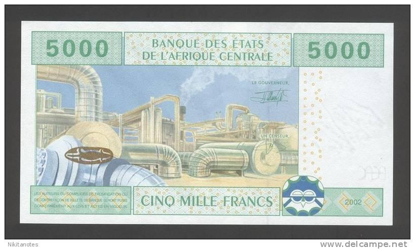 Gabon 5000 Francs 2002 AU-UNC P. 409A - Gabon