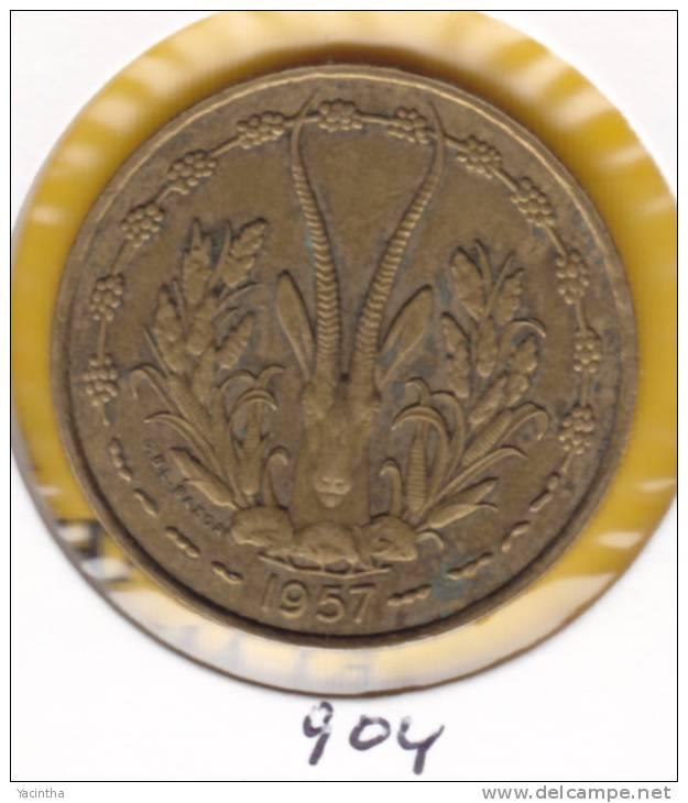 @Y@  Frans Togo  25 Fr 1957    (904) - Togo