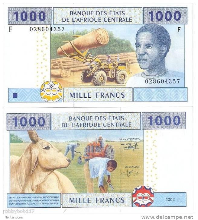 EQUATORIAL GUINEA 1000 Francs Unc - Guinea Ecuatorial