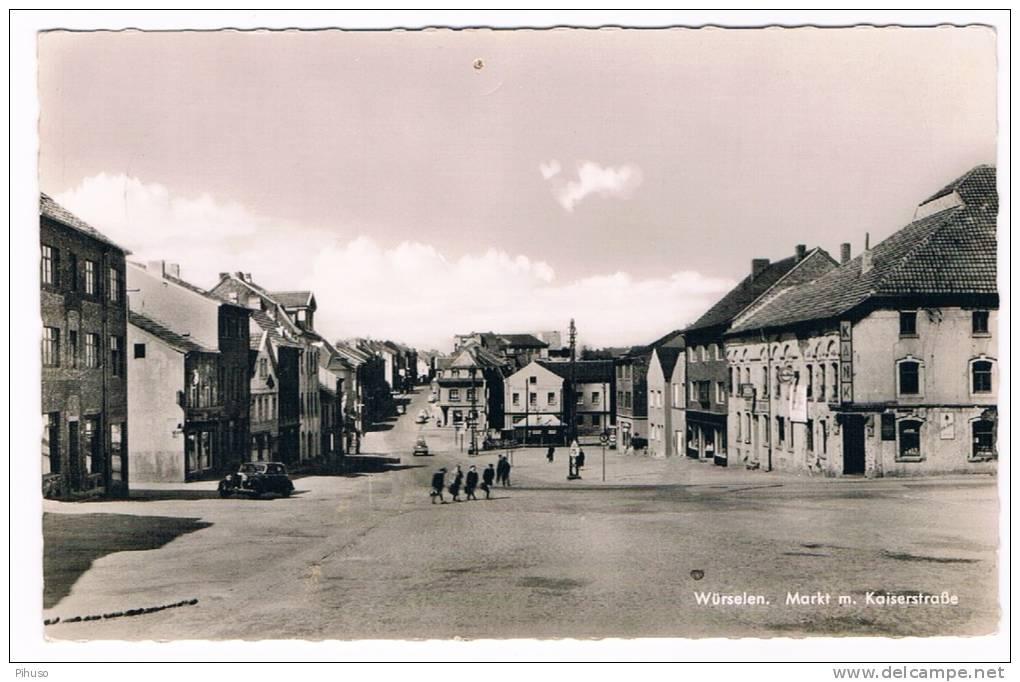 D2758    WÜRSELEN : Markt I. Kaiserstrasse - Neuss