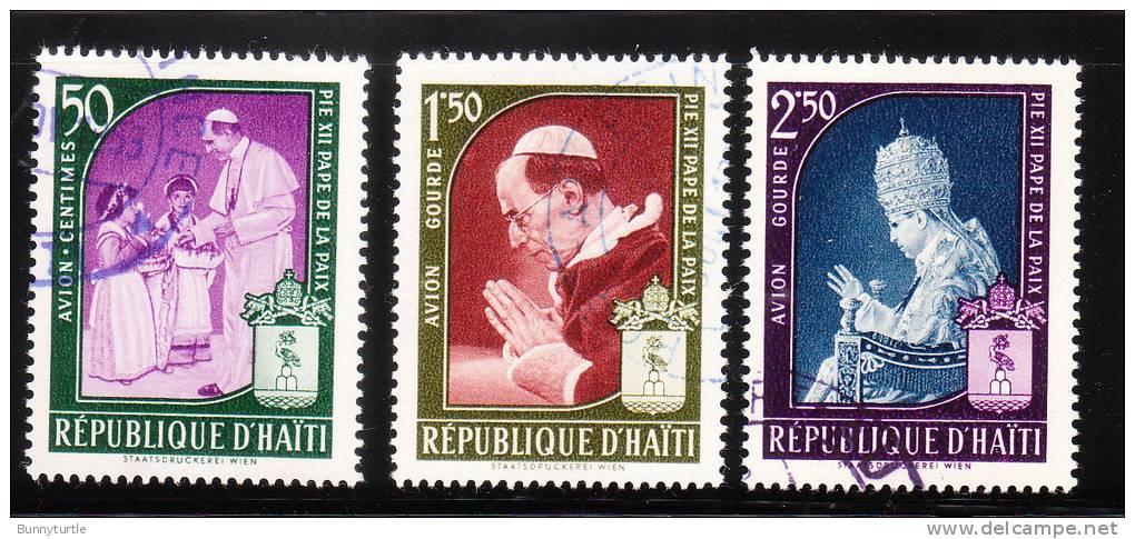 Haiti 1959 Pope Pius XII Used - Haïti