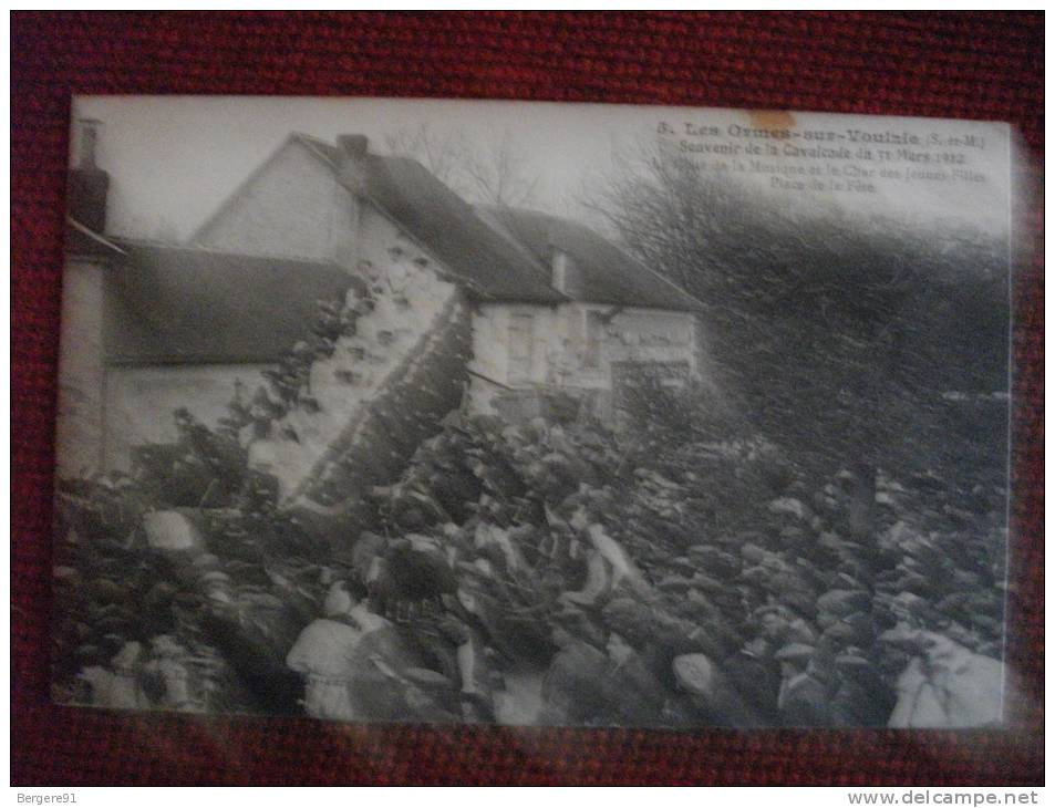 LES ORMES SUR VOULZIE SEINE ET MARNE SOUVENIR DE LA CAVALCADE DU 31 MARS 1912 - France