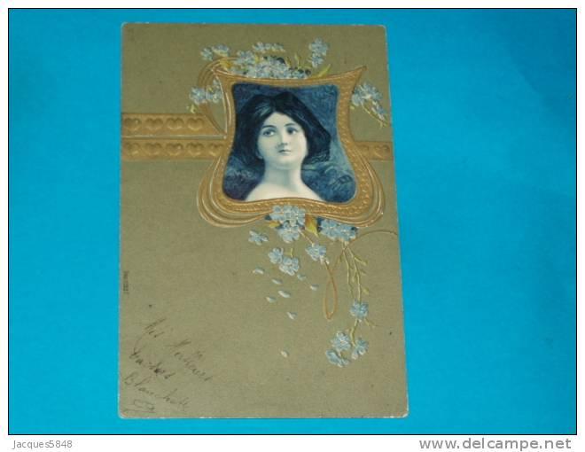 Illustrateurs) - N° 11327 - Artt Nouveau - Style Mucha -  - Année 1902 - EDIT - - 1900-1949