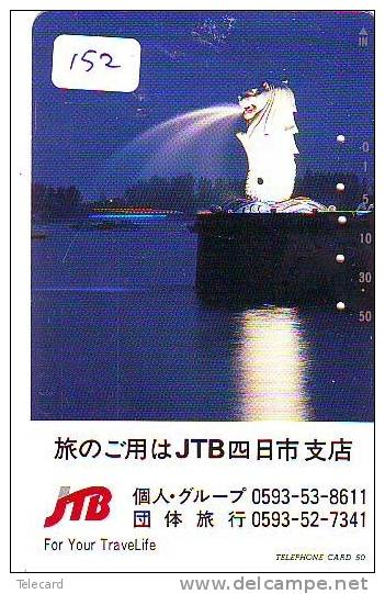 Télécarte Japon * JTB * (152) * PHONECARD JAPAN * TELEFONKARTE * SINGAPORE - Publicidad