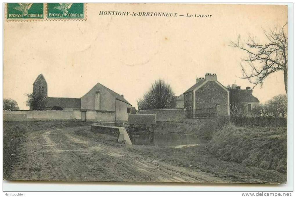 DEP 78 MONTIGNY LE LAVOIR - Montigny Le Bretonneux