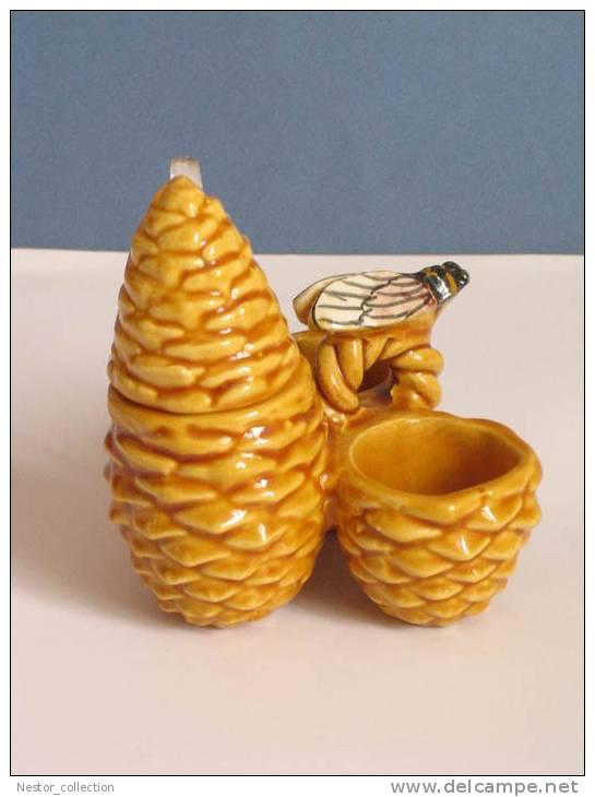 PRIX FIXE   VALLAURIS Cigale Saleron Moutardier Poivrier Sel Poivre Moutarde Pomme De Pin ACHAT IMMEDIAT - Vallauris (FRA)