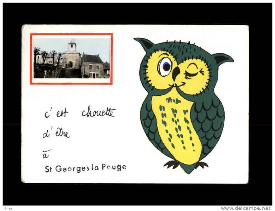 23 - SAINT-GEORGES-LA-POUGE - C´est Chouette D´être à - France