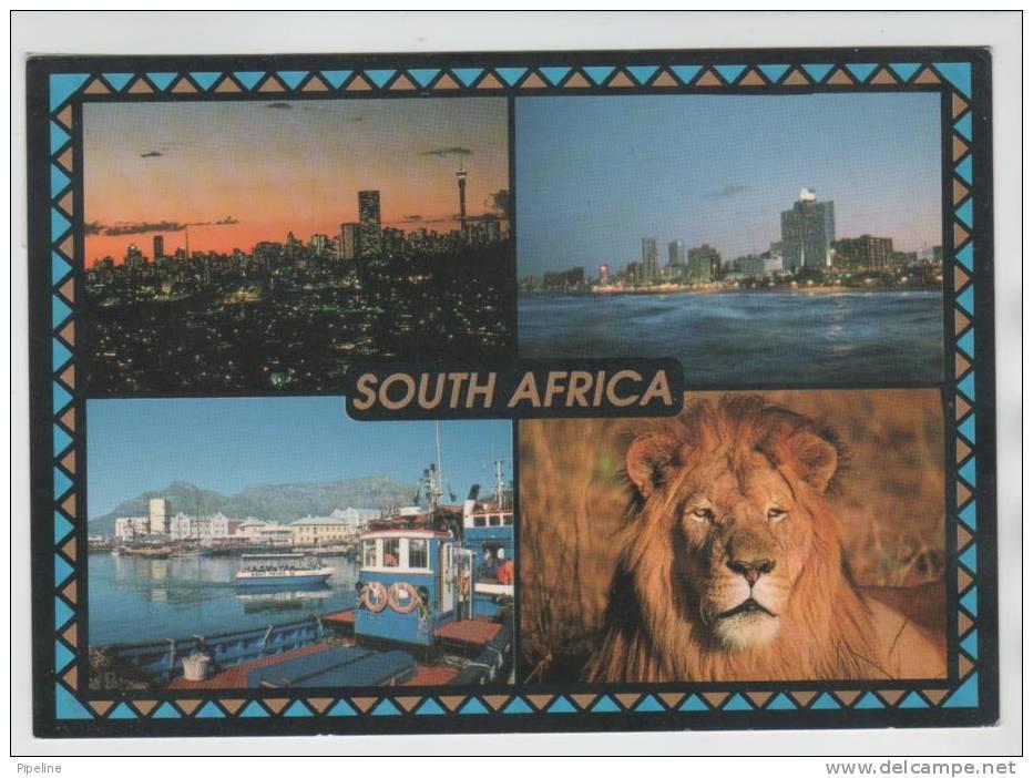 South Africa Postcard Sent To Denmark Photosafari - South Africa