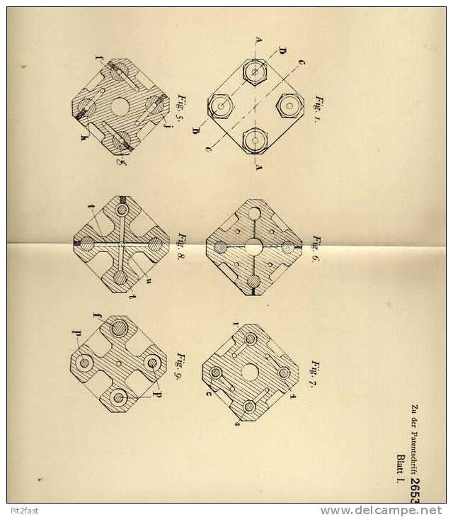 Original Patentschrift - G. Constantinescu In London ,1913 , Gasgewinnung Aus Zylindern !!! - Cars