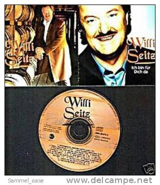 Musik CD Album  -  Willi Seitz  -  Ich Bin Für Dich Da , Sie Hat´s Aus Liebe Getan  -  1998 - Musik & Instrumente