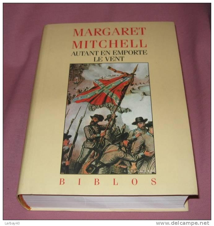 Autant En Emporte Le Vent Mitchell Margaret Editions Gallimard - 01/09/1993 - Non Classés