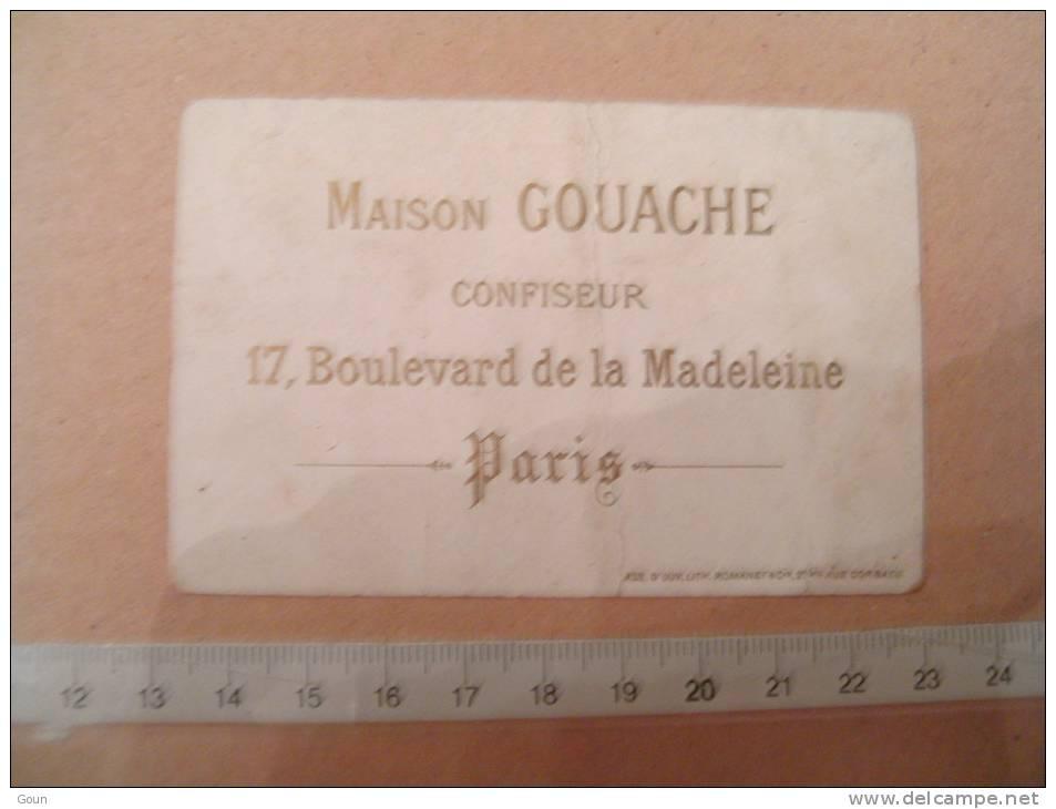 A-1-2-60 Chromo  Maison Gouache Confiseur Paris - Schokolade