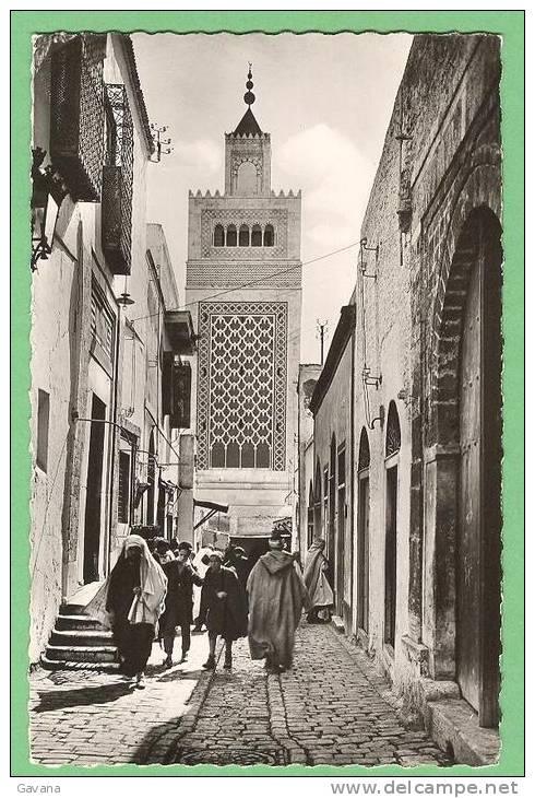 TUNISIE - TUNIS - Rue Sidi Ben Arous - Tunesië