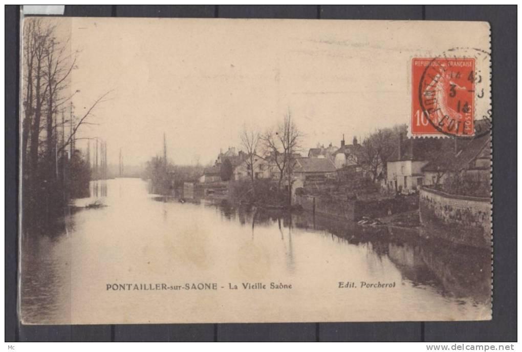 21 - Pontailler Sur Saone - La Vieille Saone - France