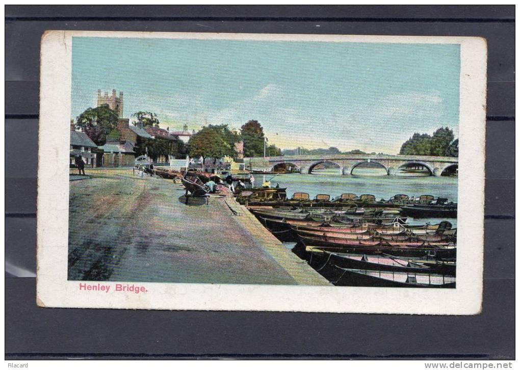 26060    Regno  Unito,  Henley  Bridge,  NV (scritta) - Inghilterra