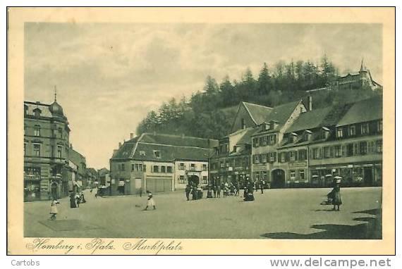Allemagne HOMBURG Markplatz - Saarpfalz-Kreis
