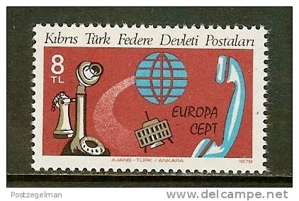 TURKISH CYPRUS 1979 MNH Stamp(s) Europa 1 Value Only 73 - Cyprus (Turkey)
