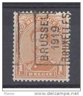 "BELGIE - Preo Nr 2430 A - ""BRUSSEL 1919 BRUXELLES"" (ref. 1836) - ROLLER PRECANCELS - Handrol Preo Roulette - Rolstempels 1910-19"