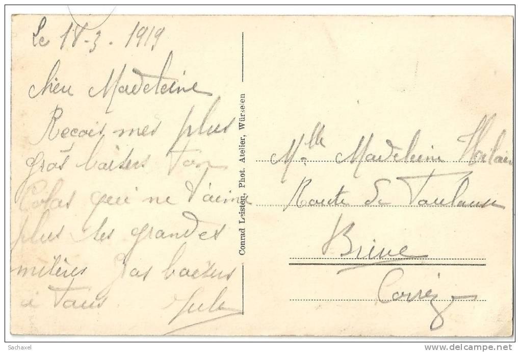 CPA 1919  Würselen-Morsbach  St Balbina-Pfarrkirche.. - Würselen