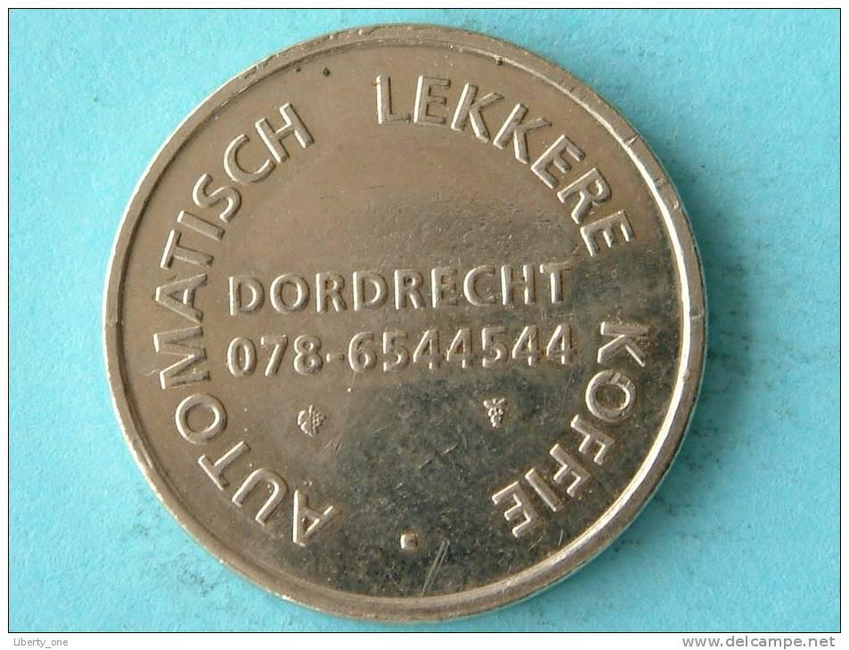 AUTOBAR - Automatisch Lekkere Koffie Dordrecht 078-6544544 / Zilverkleurig ( Details Zie Foto´s) !! - Pays-Bas