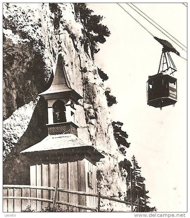 Wildkirchli Mit Schwebebahn Seilbahn Ebenalp Gasthaus Ca. 1950 - AI Appenzell Rhodes-Intérieures