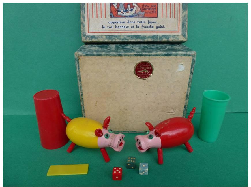 jeu de societe ancien le cochon qui rit concours. Black Bedroom Furniture Sets. Home Design Ideas