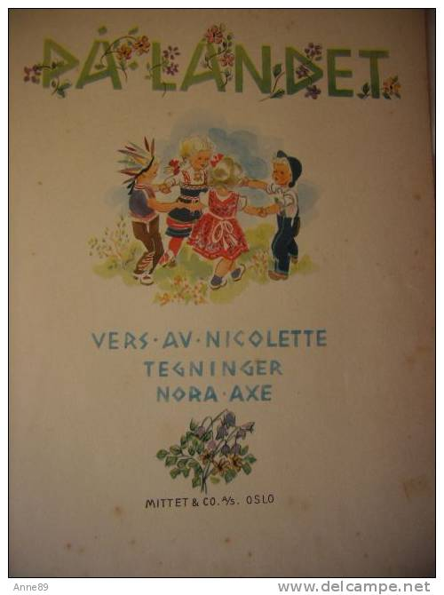 Chansons Enfantines En Norvégien (Barnas Sangbok) - På Landet (Dans La Campagne) - Books, Magazines, Comics